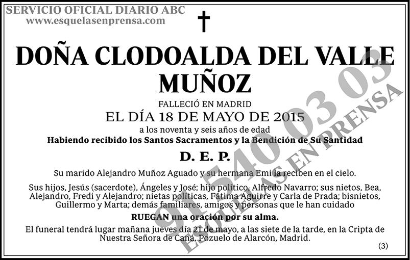 Clodoalda del Valle Muñoz
